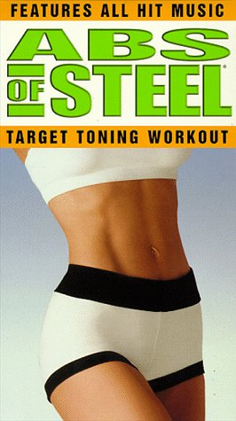 9781568327679: Abs of Steel: Target Toning Workout [VHS]