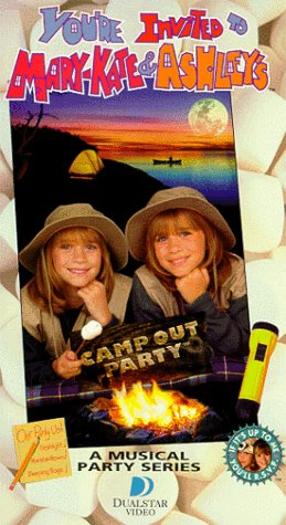 9781568327822: You're Invited to Mary-Kate & Ashley's Camp Out Party [VHS]