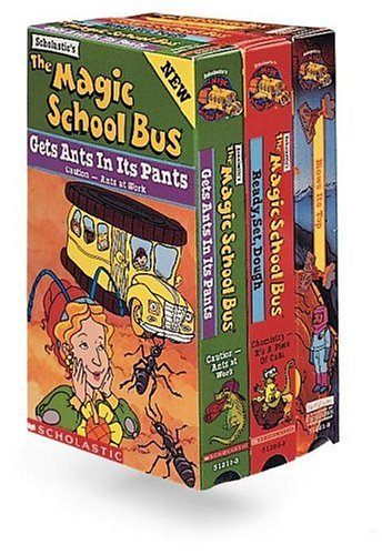 9781568328041: The Magic School Bus 3-Pak: Blows Its Top, Gets Ants in Its Pants, Ready Set Dough [VHS]