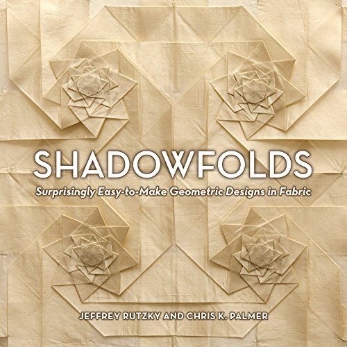 9781568363790: Shadowfolds: Surprisingly Easy-to-Make Geometric Designs in Fabric