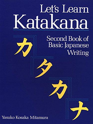 9781568363905: Let's Learn Katakana: Second Book of Basic Japanese Writing