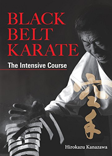 9781568365039: Black Belt Karate: The Intensive Course