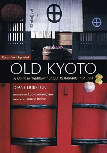 9781568365459: Old Kyoto: A Guide To Traditional Shops, Restaurants, And Inns