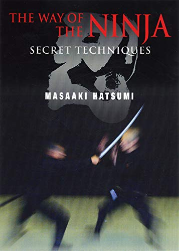 9781568365503: The Way of the Ninja: Secret Techniques