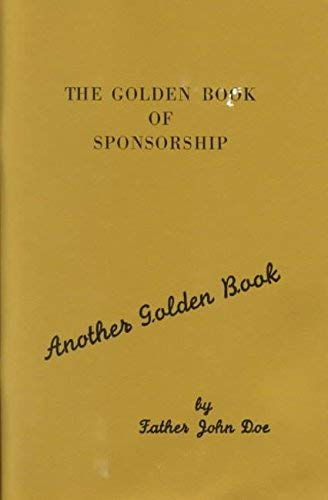 9781568382364: The Golden Book of Sponsorship (Another Golden Book)