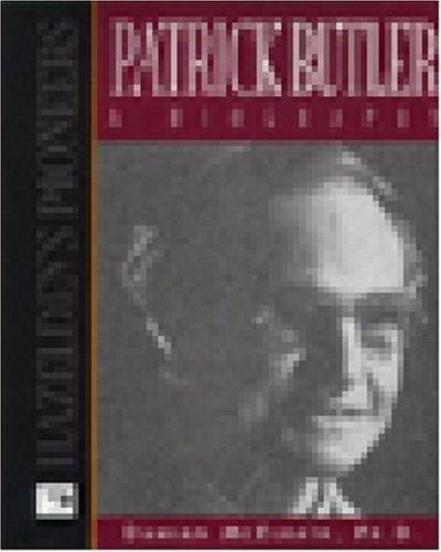 9781568383095: Patrick Butler a Biography (Hazelden's Pioneers)