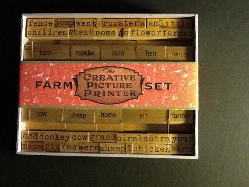 9781568462646: Creative Pictured Printer: Farm