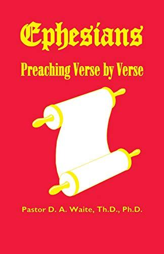 9781568480312: Ephesians Preaching Verse By Verse