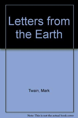 9781568490694: Letters from the Earth