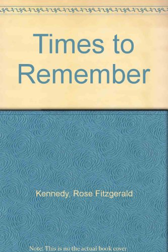 9781568495675: Times to Remember