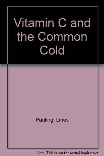 9781568496696: Vitamin C and the Common Cold