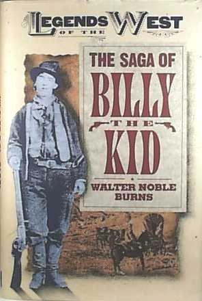 9781568521787: Saga of Billy the Kid