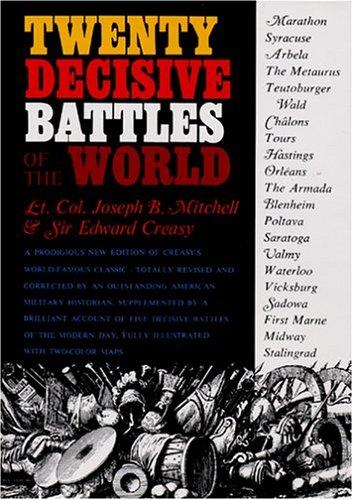 9781568524580: Twenty Decisive Battles of the World