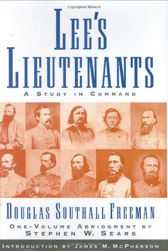 9781568525099: Title: Lees Lieutenants A Study in Command