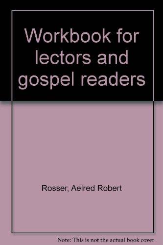 9781568540320: Workbook for lectors and gospel readers