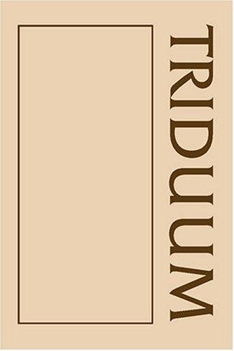 9781568540993: Triduum Sourcebook (Sourcebook Series) (Sourcebook Series (Liturgy Training Publications (Firm)).)
