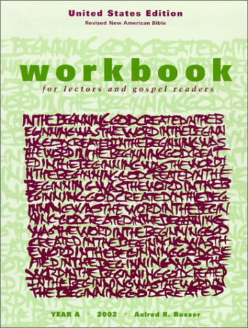 9781568543727: Workbook for Lectors and Gospel Readers: Year A