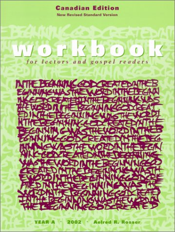 9781568543734: Workbook for Lectors and Gospel Readers: Canadian Edition, Year A