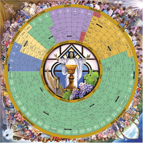 9781568546254: Year of Grace Liturgical Calendar 2008 Poster Laminated