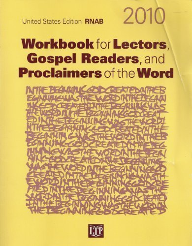 9781568547343: Workbook for Lectors, Gospel Readers, and Proclaimers of the Word 2010: United States Edition RNAB, Year C