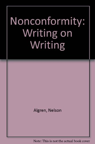 9781568580159: Nonconformity: Writing on Writing
