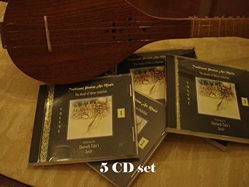 9781568590738: Traditional Persian Art Music: The Radif Of Mirza Abdollah (5 VOL SET)