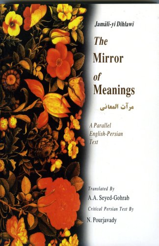 9781568591049: The Mirror of Meanings: Mirat Al-maani : a Parallel English-persian Text (Bibliotheca Iranica: Intellectual Traditions Series)