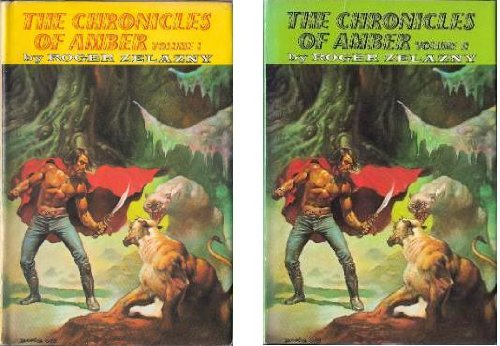 9781568650036: The Chronicles of Amber (2 Volumes) [Hardcover] by