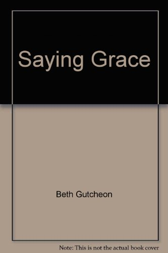 9781568651613: Saying Grace