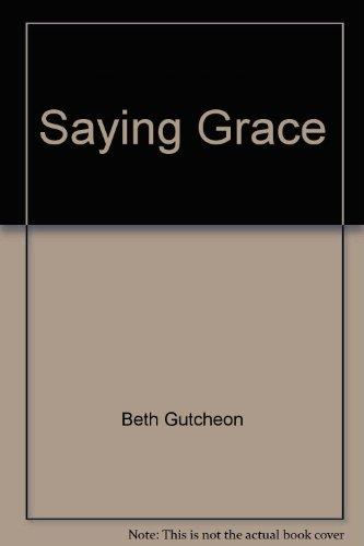 9781568651613: Saying Grace