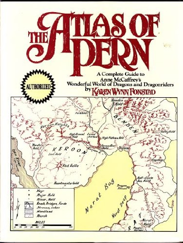 9781568652634: The Atlas of Pern
