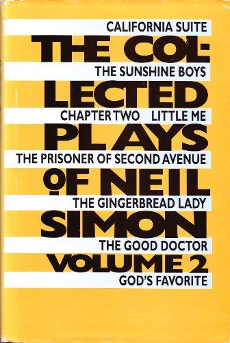 9781568656687: The Collected Plays of Neil Simon. Volume 2. [Hardcover] by