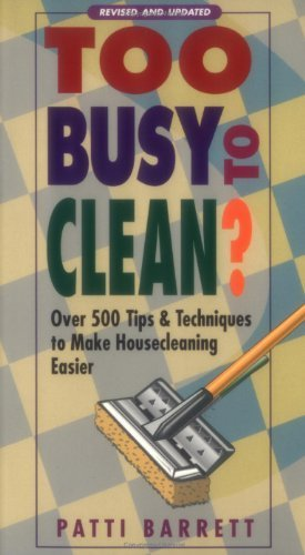 9781568657035: Too Busy To Clean?