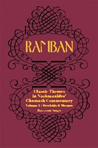 9781568713427: RAMBAN: Classic Themes in Nachmanides's Chumash Commentary (Volume 1: Bereishis and Shemos)