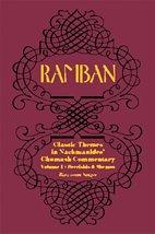 9781568713427: RAMBAN: Classic Themes in Nachmanides's Chumash Commentary (Volume 1: Bereishis and Shemos)