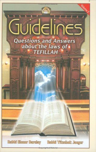 9781568714233: Guidelines: Tefillah, volume 2