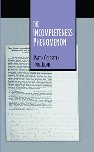 9781568810294: The Incompleteness Phenomenon