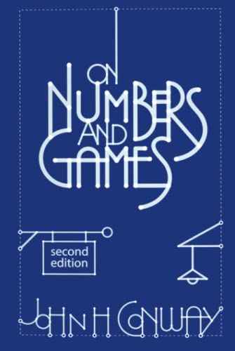 9781568811277: On Numbers and Games