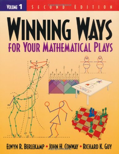 9781568811307: Winning Ways for Your Mathematical Plays: Volume 1