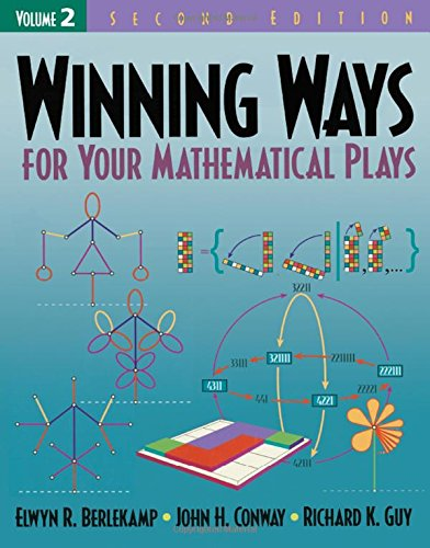 9781568811420: Winning Ways for Your Mathematical Plays, Volume 2