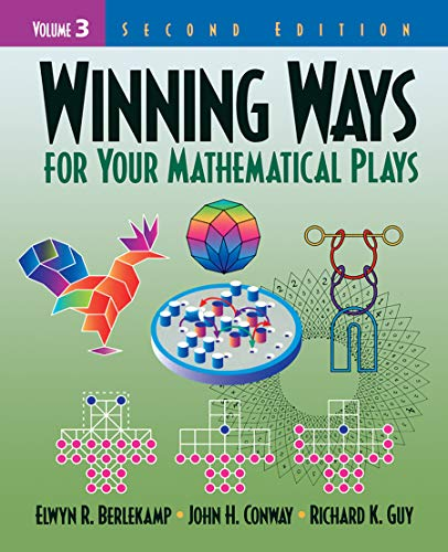 Winning Ways for Your Mathematical Plays, Volume: Berlekamp, Elwyn R.,