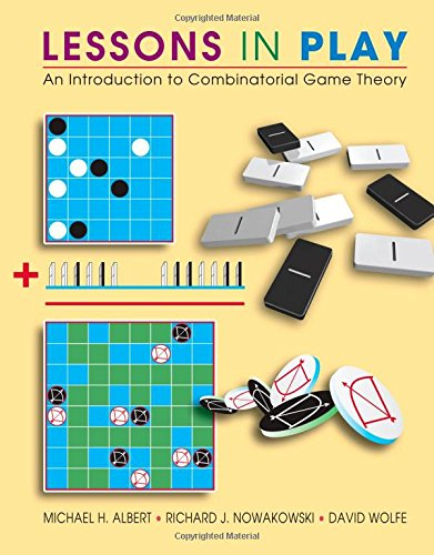 9781568812779: Lessons in Play: An Introduction to Combinatorial Game Theory: An Introduction to the Combinatorial Theory of Games