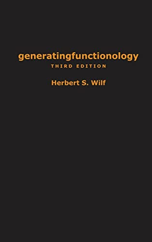 9781568812793: generatingfunctionology: Third Edition