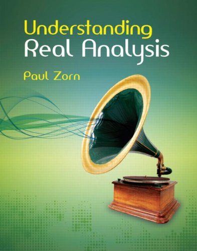 9781568814155: Understanding Real Analysis
