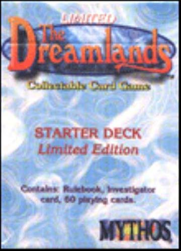 MYTHOS : The DREAMLANDS - STARTER DECK Limited Edition: LOVECRAFT, H.P. (inspiration)