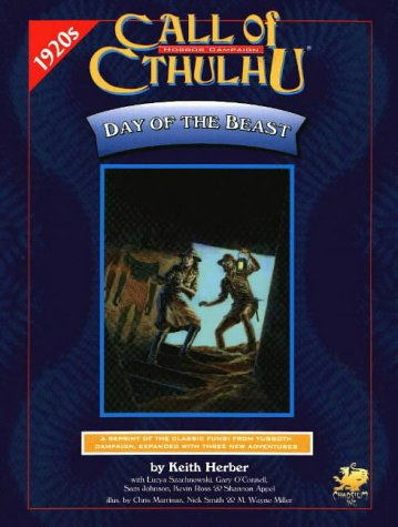 Day of the Beast (Call of Cthulhu - Supplements (Chaosium 1981-2001)): Keith Herber