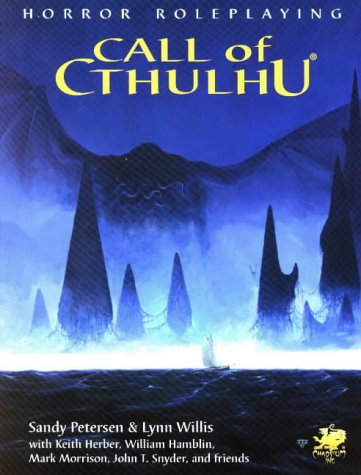 9781568821344: Call Of Cthulhu: Horror Roleplaying In the Worlds Of H.P. Lovecraft (5.5 Edition / Version 5.5)