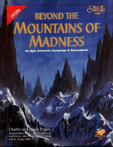 9781568821382: Beyond the Mountains of Madness (Call of Cthulhu Roleplaying Game)