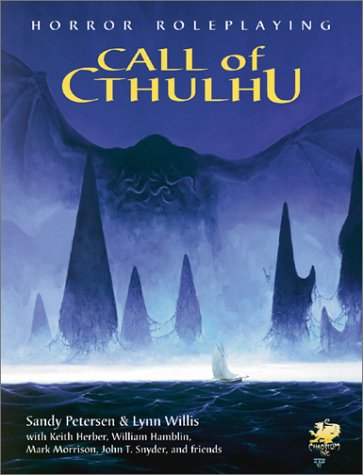 Call of Cthulhu Edition 5.6.1 (Call of Cthulhu - Rule, Source & Supplement Books (Chaosium 2001...