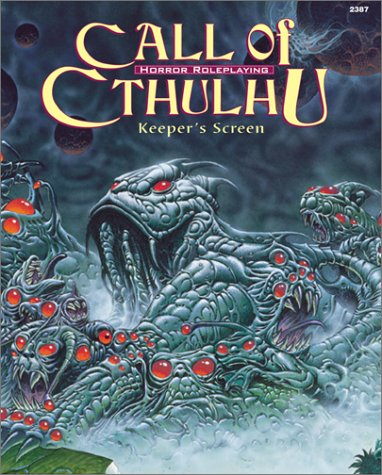 9781568821498: Call of Cthulhu Keeper's Screen